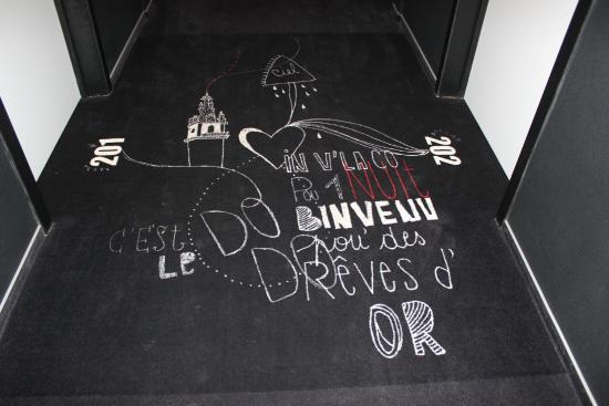 Dream: Corredor de acesso aos quartos do 2º andar