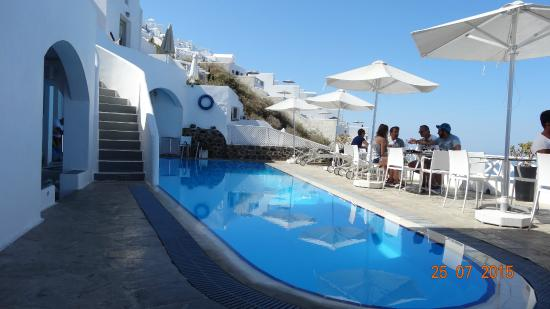 Regina Mare Hotel: The hotel swimming pool