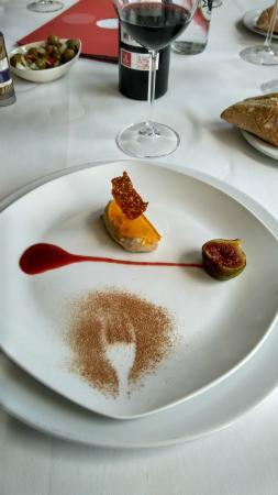 Restaurante Astillero Euskalduna: Bombon de Foie