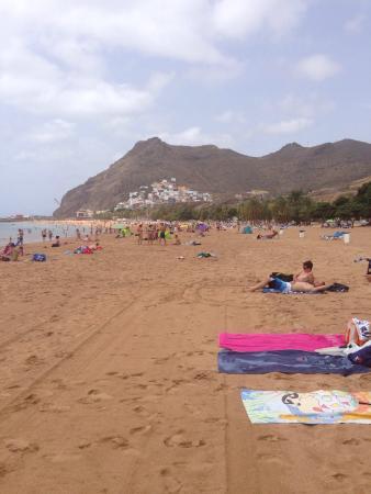Santa Cruz de Tenerife, España: Playa de las Teresitas