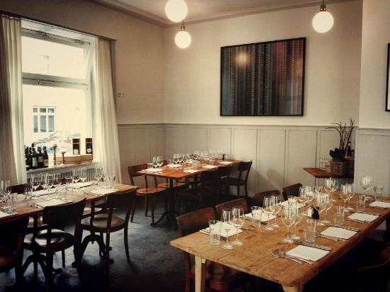 Hopfenau Quartier Restaurant: Bankettbestuhlung Restaurant