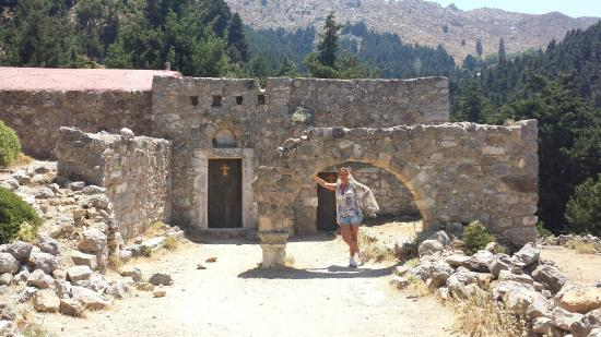 Paleo Pili: византийские церкви 15-17 век