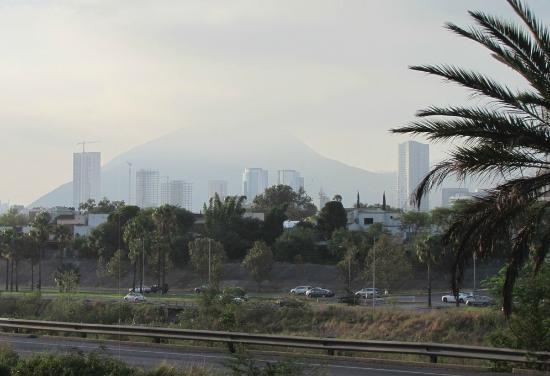 Hilton Garden Inn Monterrey: View from the room to San Pedro area