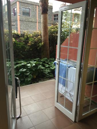 Hacienda San Jorge: Terrasse zu Zimmer 213B