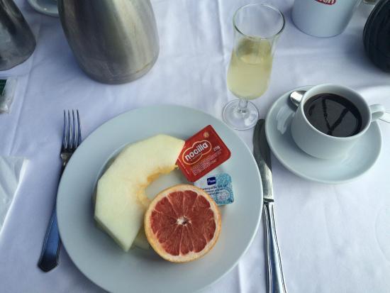 Hacienda San Jorge: Frühstück