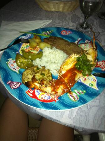 Memories Caribe Beach Resort: souper de Langouste
