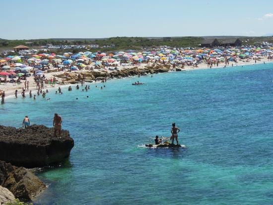 Spiaggia di Is Arutas: La spiaggia