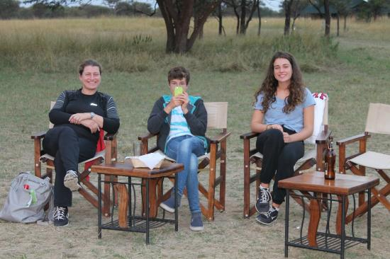 Mara Under Canvas Tented Camp: aperitiv