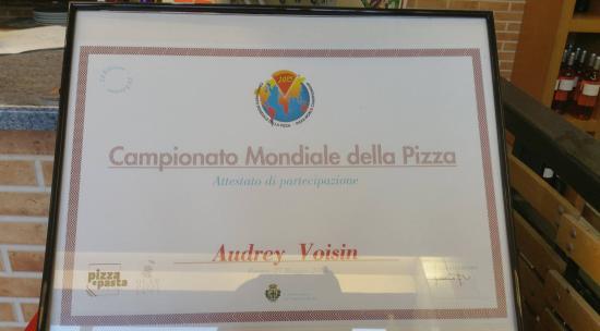 Giga Pizza: Participation et classement au Championnat du Monde