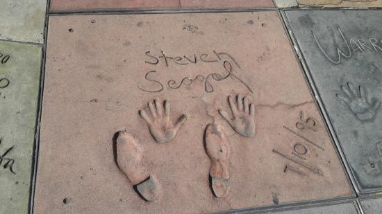 TCL Chinese Theatres: Walk of fame