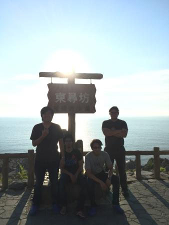 Tojinbo Cliff: Beautiful scenery of sea and cliff. A calm nature place to go.