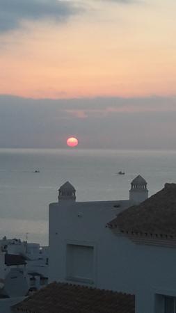 Costa del Sol, Spania: Stemningsbilde tatt fra terassen