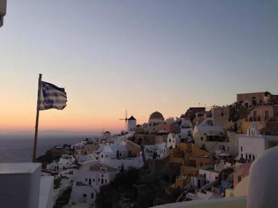 Sunset in Oia: sunset Oia