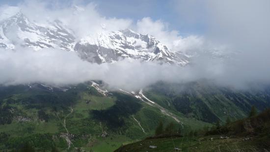 Grossglockner-Hochalpenstrasse: lage bewolking