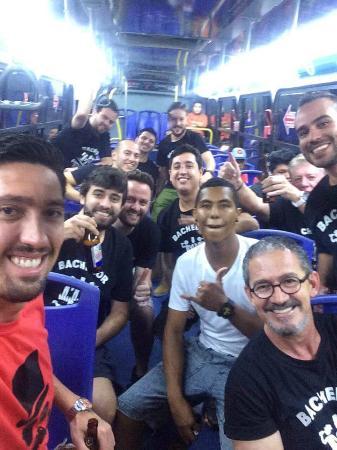 Brasil Transfers: A despedida de Solteiro do DADA acompanhada todos os dias por Luiggi da brasiltransfers!!!