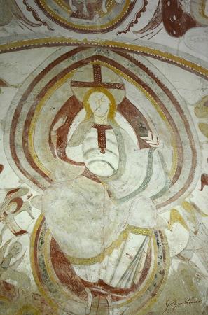 St Gilles Chapel: Christ en gloire