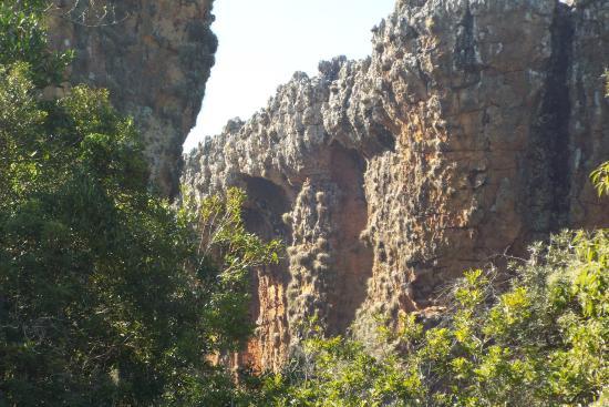 Parque Estadual de Vila Velha: Paredão