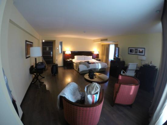 Diplomatic Hotel: habitación superior