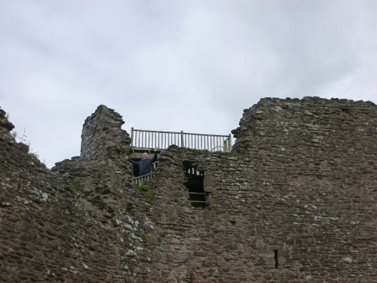 White Castle: top of the inner gate house