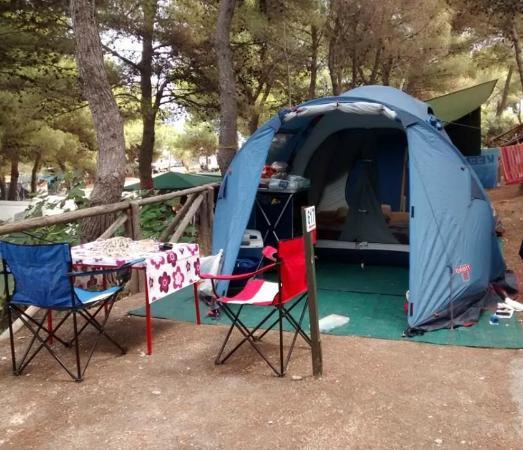 Villaggio Camping Punta Lunga: piazzola + tenda