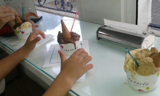 L'enxaneta gelats d'altura