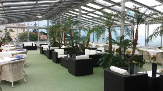 Hotel Rimmele : veranda relax / colazione