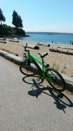 Stanley Park: My chariot awaits!
