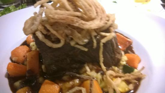 Aviation Grill: Braised Short Ribs