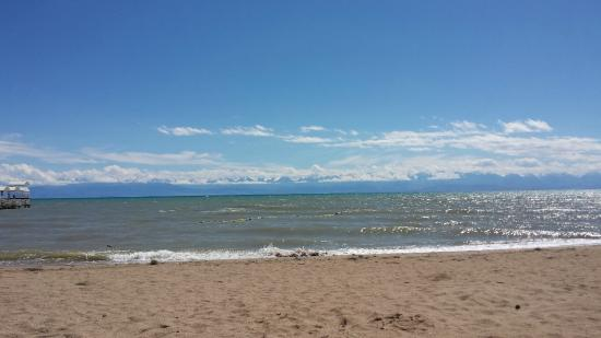 Raduga Resort Center: il lago Issyk Kul