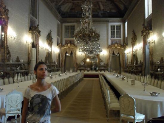 Ajuda Nasjonalpalass: The amazing dining room