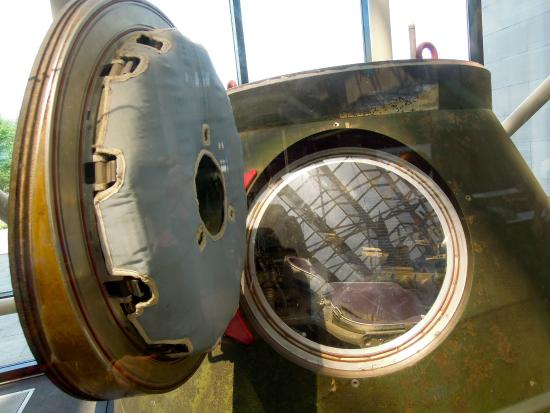 Det nasjonale luft- og rommuseet: Particolari all'interno del museo