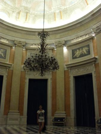 Ajuda Nasjonalpalass: Beautiful large hall