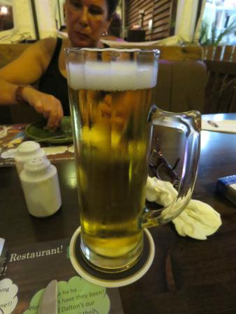 Daltons Mexican: Cold lager