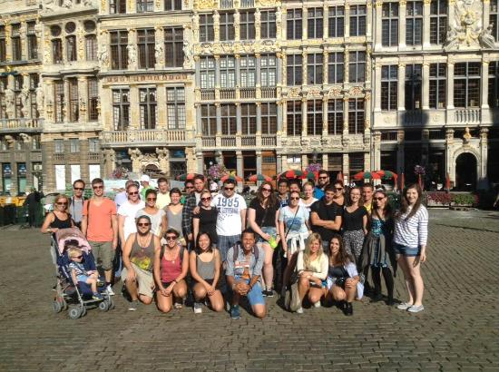 Viva Brussels Tours: Group pic