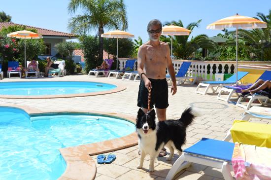 Costa Real Tropea: il nostro Argo in piscina
