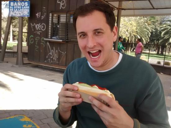 Parque Quinta Normal: Dog!