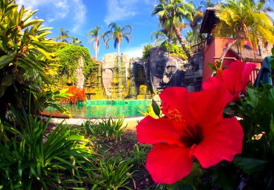 Asia Gardens Hotel & Thai Spa, a Royal Hideaway Hotel: Piscina adultos caras de Angkor