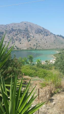 Lake Kournas: Kournas Lake