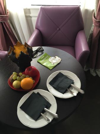 Grand Amore Hotel and Spa: La stanza d'albergo - Il benvenuto