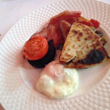 Glenapp Castle: The yummy glenapp grill