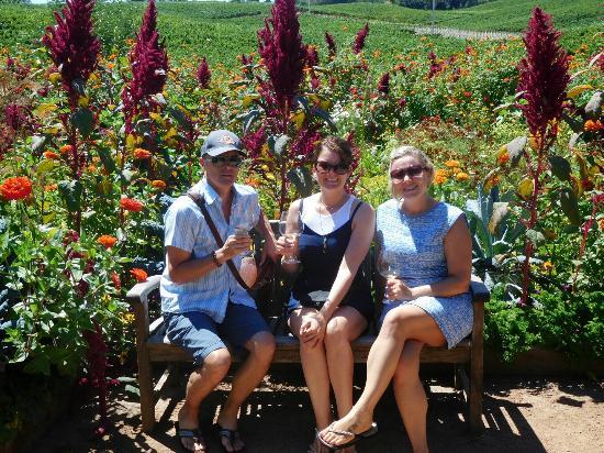 Lynmar Estate Winery: Enjoying the view