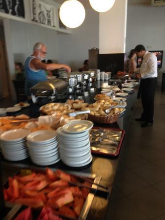 Grande Hotel Da Barra: Buffet do café da manhã