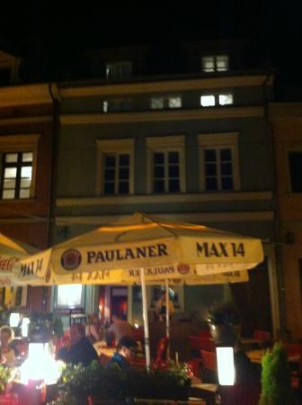 Restauracja Max14: fachada