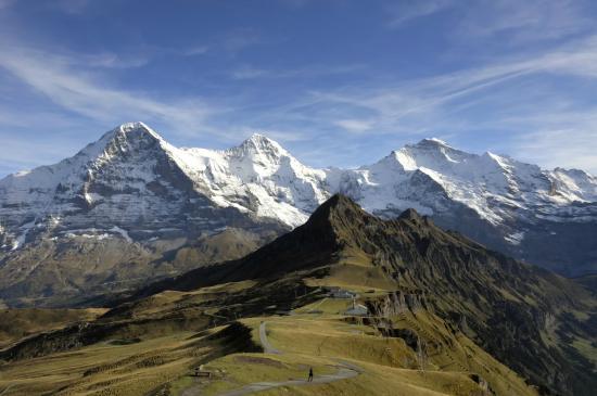Grindelwald, Swiss: Eiger, Mönch und Jungfrau