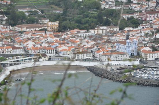 Monte Brasil: vista sobre a cidade