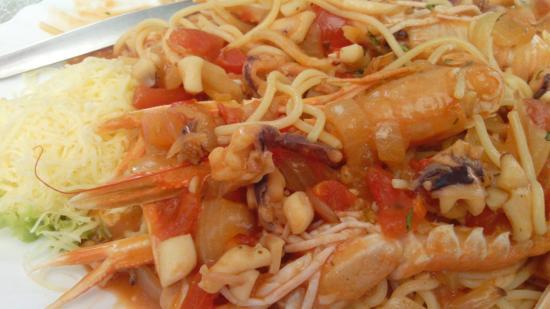 Konoba Ivo: Spaghetti con sugo di pesce