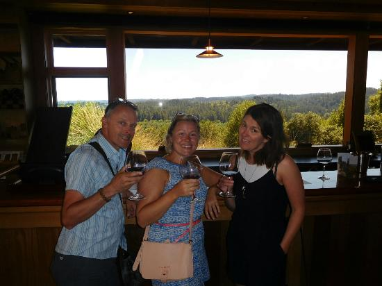Gary Farrell Winery: Delicious wine