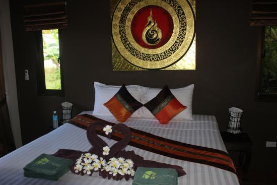 Baan Sawan Samui Resort: Room at our arrival