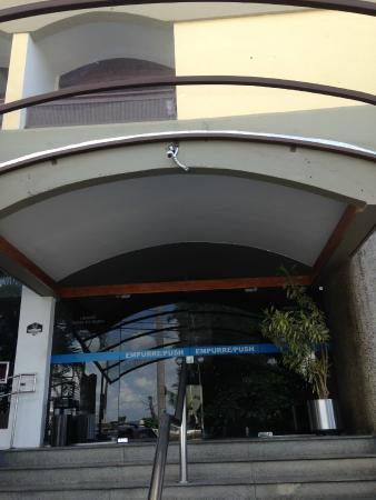 Grande Hotel Da Barra: Entrada do hotel