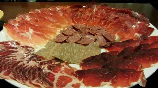 Agriturismo Argaland Parma: degustazione salumi